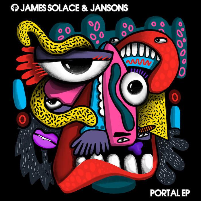 James Solace & Jansons - Portal EP cover