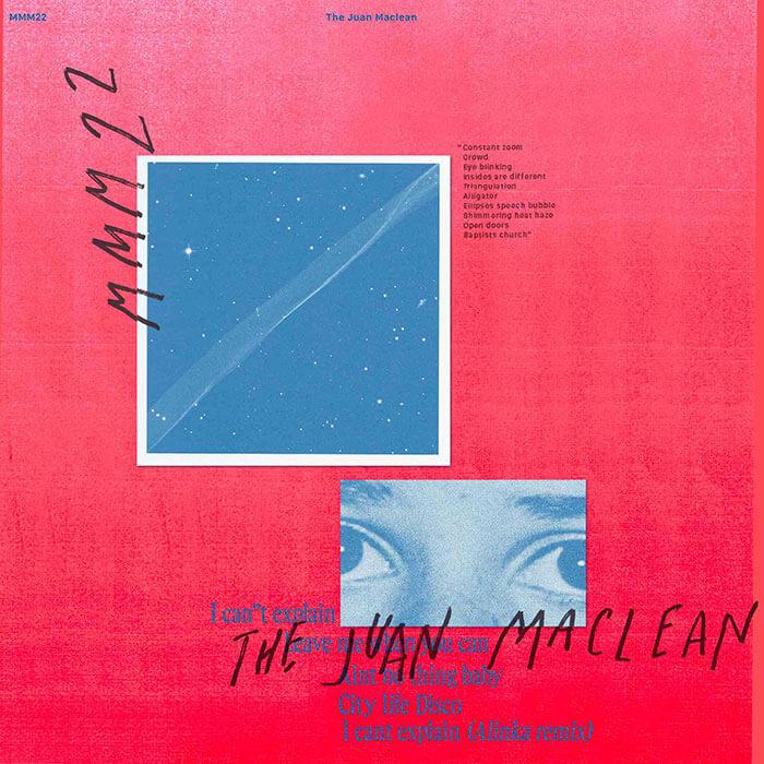 The Juan Maclean - I Can't Explain (incl. Alinka Remix) cover