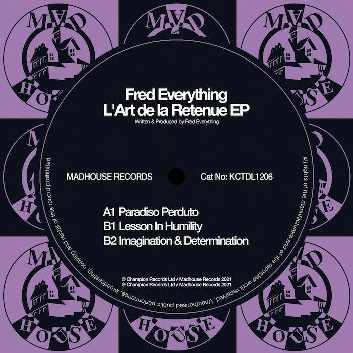 Fred Everything - L'Art de la Retenue EP cover