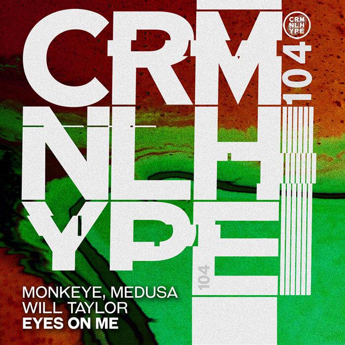 Monkeye, Medusa - Eyes On Me (Will Taylor (UK) Remix) cover