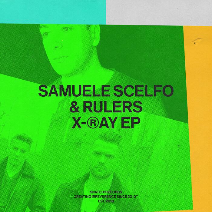 Samuele Scelfo & Rulers - X-Ray EP cover