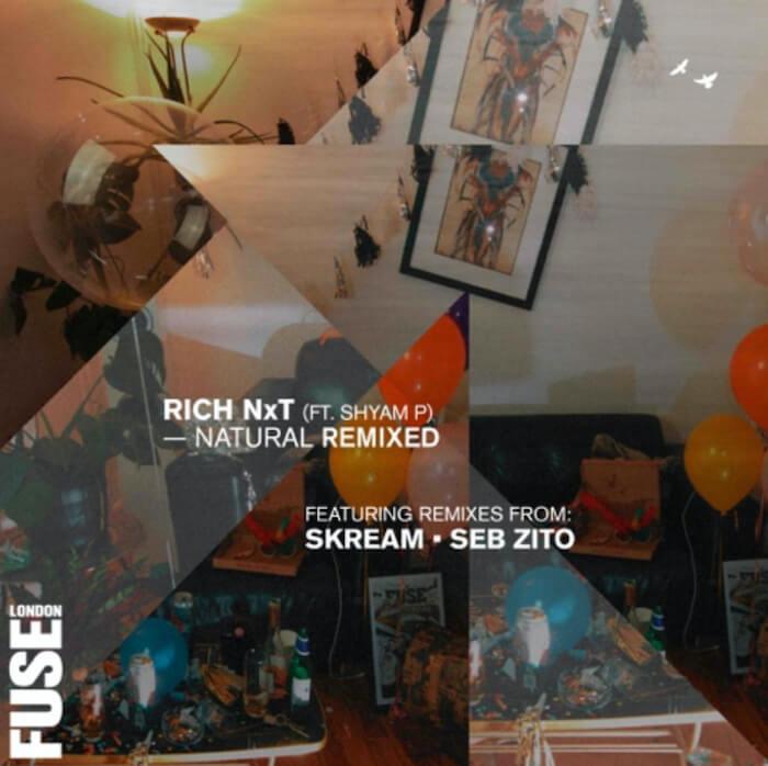 Rich NxT ft. Shyam P - Natural Remixed (incl. Skream & Seb Zito Remixes) cover
