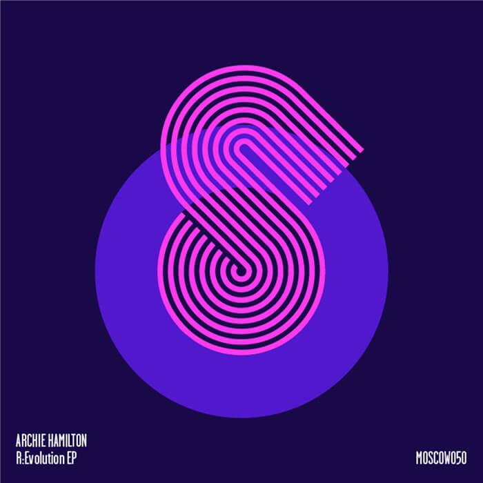 Archie Hamilton - R:Evolution EP cover