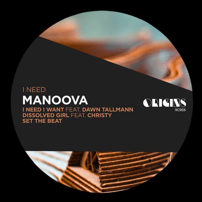 Manoova - I Need EP cover
