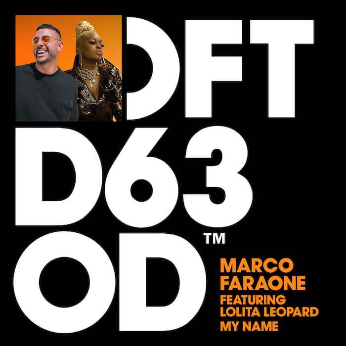 Marco Faraone featuring Lolita Leopard - My Name cover