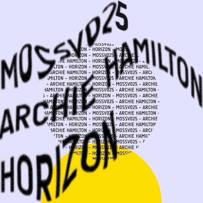 Archie Hamilton - Horizon EP cover